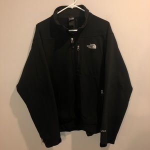 The North Face Apex Autumn Black Jacket Full Zip